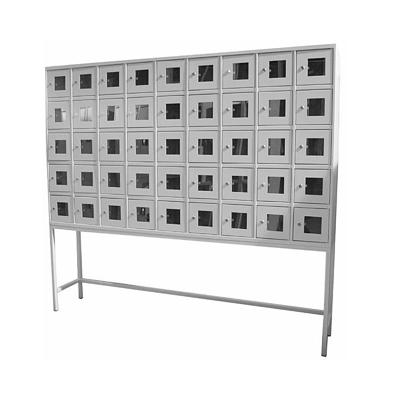 Шкаф абонентский на подставке 45 ячеек