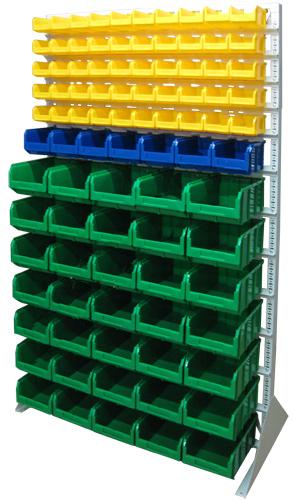 Стационарная система хранения двусторонняя 2000х1150. Комплектация В1-05-01-07