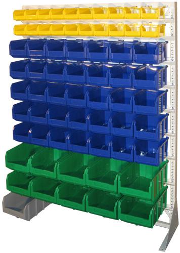 Стационарная система хранения одностороняя 1500х1150. Комплектация С1-02-05-02