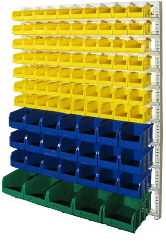 Настенная система хранения 1500х1150. Комплектация С1-07-03-01