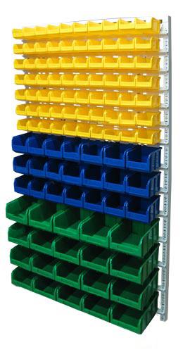 Настенная система хранения 2000х1150. Комплектация В1-07-03-04