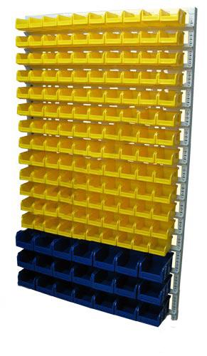 Настенная система хранения 2000х1150. Комплектация В1-13-03-00
