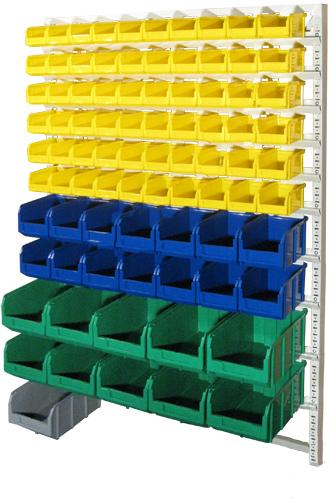 Настенная система хранения 1500х1150. Комплектация С1-06-02-02