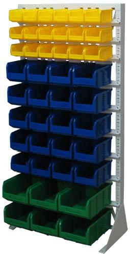 Стационарная система хранения односторонняя 1500х735. Комплектация А-03-05-02