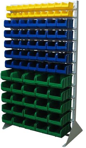 Стационарная система хранения односторонняя 2000х1150. Комплектация В1-02-05-05