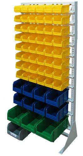 Стационарная система хранения односторонняя 1500х735. Комплектация А-08-02-01