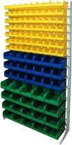 Стационарная система хранения односторонняя 2000х1150. Комплектация В1-07-03-04